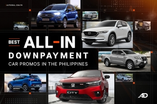 Best All-in Downpayment car promos in the Philippines