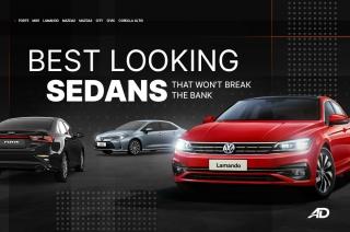 Best looking sedans that won't break the bank