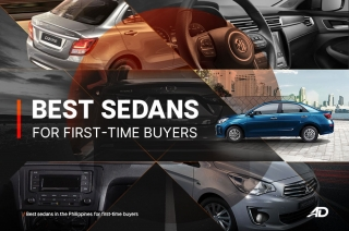 Best sedans in the Philippines for first-timers