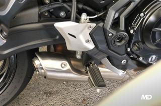 Big bike exhaust system