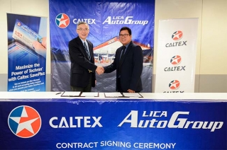 Caltex LICA group partnership renewal