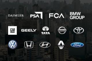 Car brand families