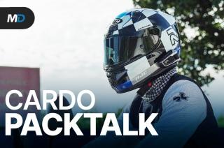 Cardo PACKTALK Bold and Slim - Behind a Desk