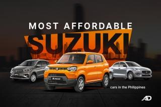 Cheap suzuki vehicles in the Philippines