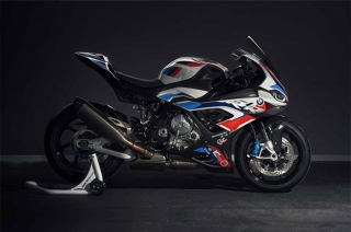 Check out the BMW M 1000 RR MotoGP Safety Bike
