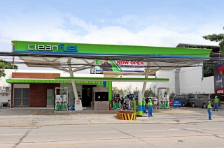 Cleanfuel opens a new station along Ortigas Extension, Pasig