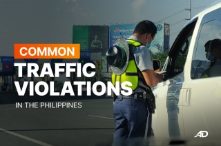 Common traffic violations in the Philippines