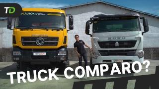 DongFeng KC vs Sinotruk Howo A7 Dump Trucks – TruckDeal Comparo