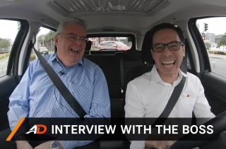 Drive with Ford Ph Managing Director Bert Lessard