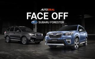 Face-Off of the Subaru Forester