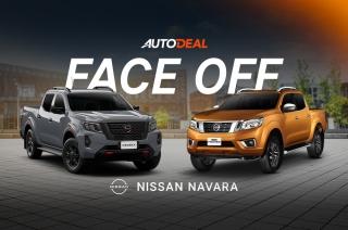 Face-off old vs new navara