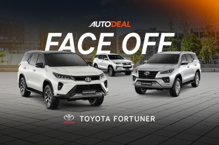 Face-off toyota fortuner