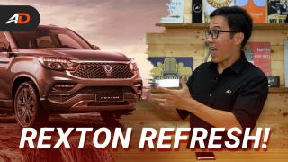 Facelifted 2020 SsangYong Rexton Launches in the Philippines - Behind a Desk