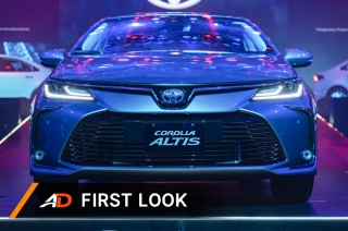 First Look: 2020 Toyota Altis