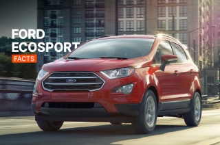 Ford EcoSport Facts: A tall Fiesta