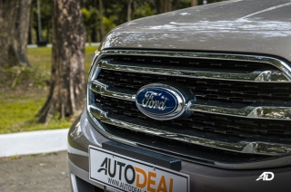 Ford Everest badge shot