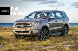 ford everest review road test exterior philippines