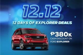 Ford Explorer promo