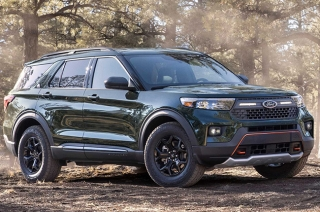 Ford Explorer Timberline 2021