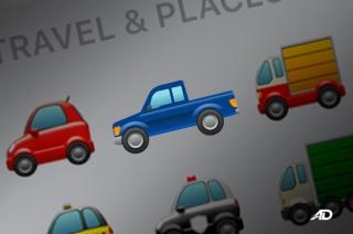 Ford Pickup Truck Emoji