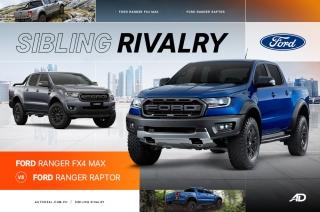 Ford Ranger Raptor vs Ford Ranger FX4 MAX