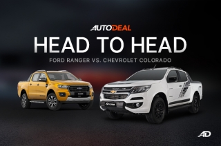 Ford Ranger vs Chevrolet Colorado head-to-head