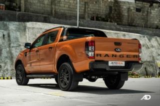 Ford Ranger Wildtrak rear quarter