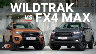 Ford Ranger Wildtrak vs Ford Ranger FX4 Max