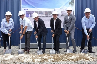 Ford Talisay cebu groundbreaking