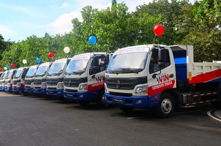 Foton commercial vehicles to serve Valenzuela City projects and programs