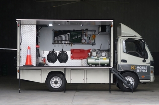 Foton EC Mobile truck