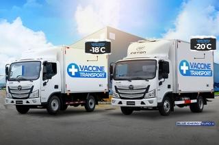 Foton Tornado Vaccine Trucks