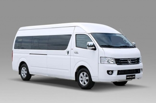 Foton Traveller XL white press photo