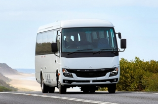 Fuso releases a new Rosa light-duty bus