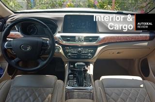 GAC GA8 interior and cargo space review