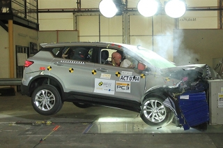 Geely Coolray ASEAN NCAP crash test