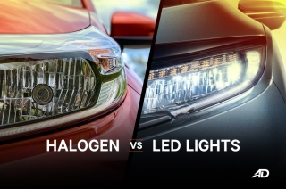 Halogen vs LED Headlights