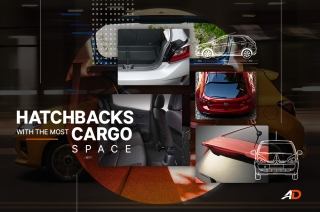 Hatchbacks with the most cargo space