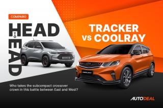 Head to Head: Chevrolet Tracker vs Geely Coolray