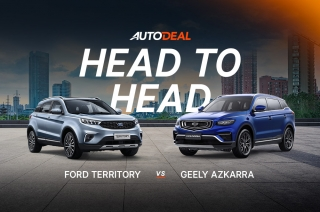 Head to Head: Ford Territory vs Geely Azkarra