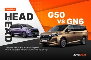 Head to Head: GAC GN6 vs Maxus G50