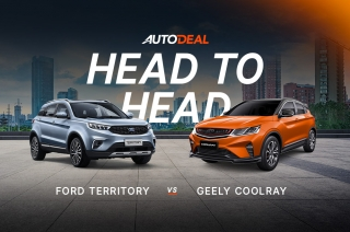 Head to Head Geely Coolray vs Ford Territory