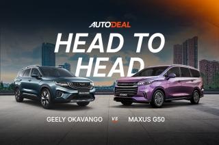 head to head geely okavango vs maxus g50