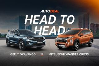 Head to head: Geely Okavango vs Mitsubishi Xpander Cross