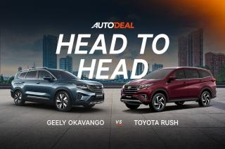 Head to Head – Geely Okavango vs Toyota Rush
