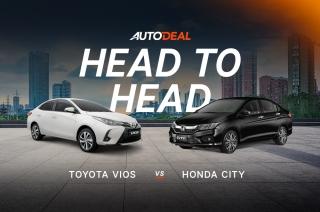 head to head honda city vs toyota vios