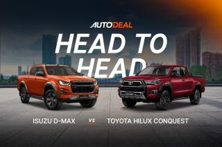 Head to Head: Isuzu D-MAX vs. Toyota Hilux