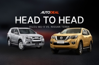 Head-to-Head: Isuzu mu-X vs. Nissan Terra