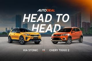 Head to Head: Kia Stonic vs Chery Tiggo 2