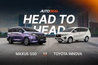 Head to Head: Maxus G50 vs Toyota Innova